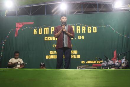 Peringati Tahun Baru 2019 Warga Rt 04 Cegokan Adakan Acara Kumpul Warga