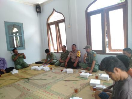 Sosialisasi Padat Karya Infrastruktur Tahun 2019 Bersama Disnakertrans Kabupaten Bantul.