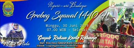 Grebeg Syawal 2019