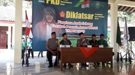 Pimpinan Anak Cabang Gerakan Pemuda Ansor Pleret adakan Diklatsar di Desa Wonolelo