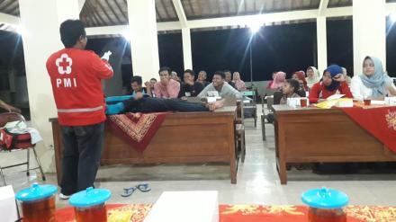 Dukung Desa Siaga,PMI Bantul adakan PPGD di Desa Wonolelo
